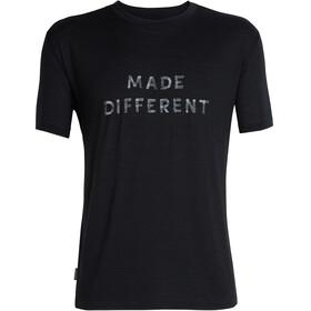 Icebreaker Tech Lite Made Different SS Crewe Shirt Men black